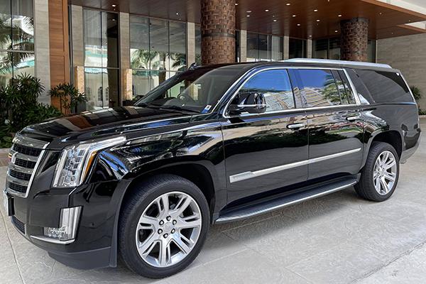 Luxury Black SUV