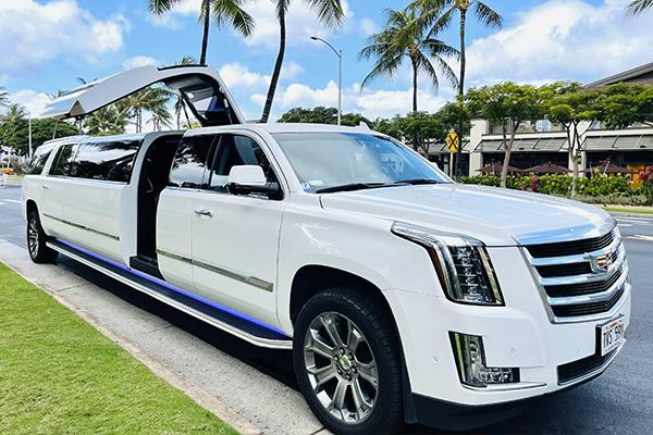 Gullwing Cadillac Escalade Limo
